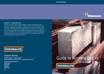 Guide to Aircrete Blocks - Masonryfirst.com