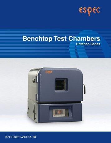 Benchtop Test Chambers - Zycon
