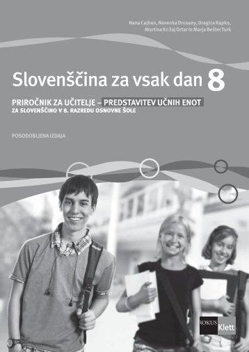 Slovenščina za vsak dan 8 (posodobljena izdaja 2010)