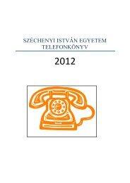 503-400 - Széchenyi István Egyetem