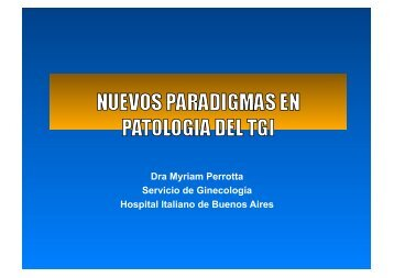 Dra Myriam Perrotta Servicio de Ginecología Hospital Italiano ... - IGBA