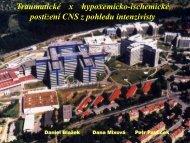 Traumatické versus hypoxemicko-ischemické postižení CNS z ...
