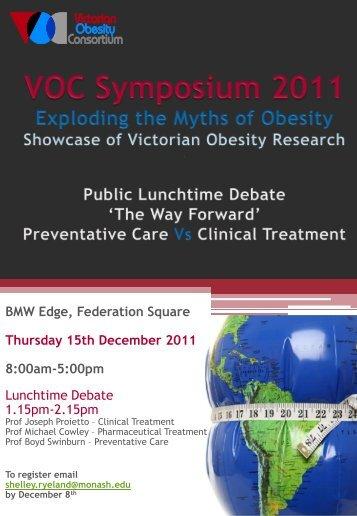 Symposium Program - Research - University of Melbourne
