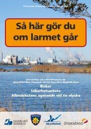 Akzo Nobel Base Chemicals AB och Stora Enso Skoghalls Bruk ...