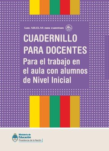 CUADERNILLO PARA DOCENTES - Plan Nacional de Lectura