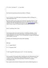 Newsletter 6 - Niedersächsische Schachjugend