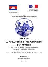 livre blanc du developpement et de l'amenagement de phnom penh