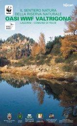 oasi wwf valtrigona - Agenzia provinciale per la protezione dell ...
