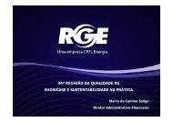 Case Prático: RGE - Marco da Camino Soligo - Movimento Brasil ...