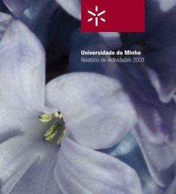 Universidade do Minho Relatório de Actividades 2008