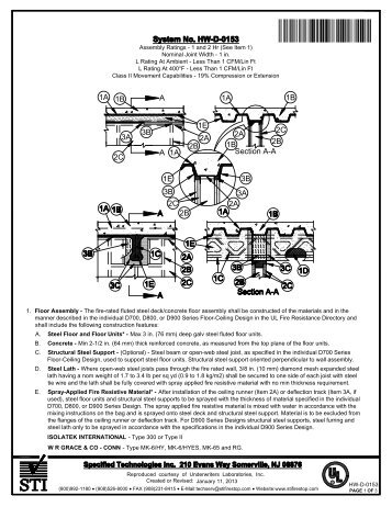 HW-D-0153 - STI - Specified Technologies Inc