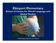 School of Choice Informational Powerpoint - Ebinport Elementary ...