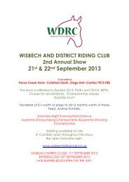 21st & 22nd September 2013 - Horse Events UK