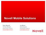 Copyright © 2012 Novell, Inc. All rights reserved. - ivnua