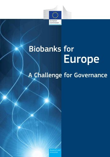 Biobanks for Europe - European Commission - Europa