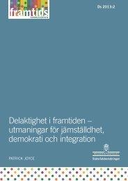 Delaktighet i framtiden - Göteborgs universitet