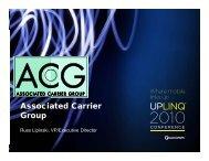 Associated Carrier Group - Uplinq