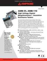 Detailed Spec Sheet (PDF) - LicensedElectrician.com