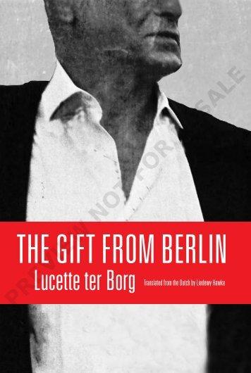 The Gift to Berlin-PR5 - Cormorant Books