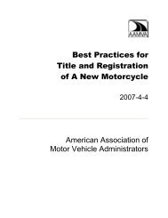 Best Practices for Title and Registration of A New Motorcycle ...