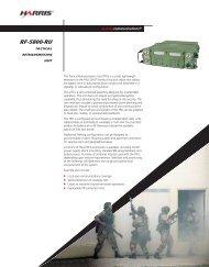 RF-5800-RU Tactical Retransmission Unit