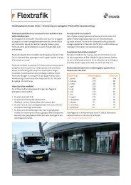 Handicapkørsel fra dør til dør - Orientering om optagelse i ... - Movia
