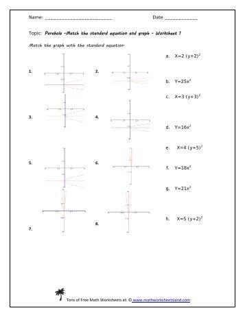 math equations worksheets