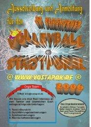 Spielerliste - Volleyball Stadtpokal Elmshorn