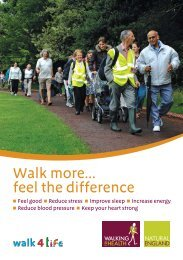 Walk more... feel the difference - Walk4Life