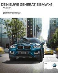 DE NIEUWE GENERATIE BMW X6 - Zwartepoorte - Bmw