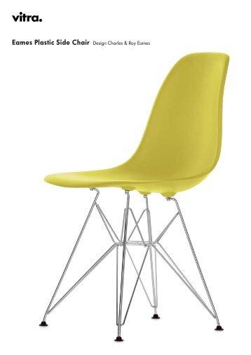 Eames Plastic Side Chair Design Charles U0026 Ray Eames