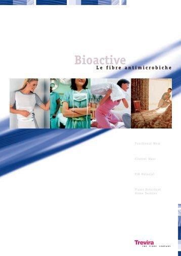 Bioactive Le fibre antimicrobiche - Trevira