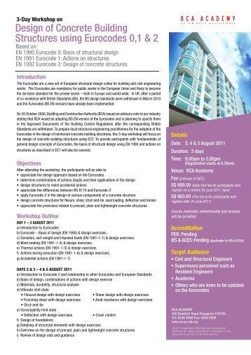 Design of Concrete Building Structures using Eurocodes 0,1 & 2