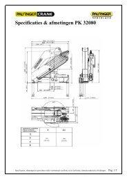 bijlage: Specificaties & afmetingen PK 32080 - Palfinger
