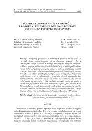 Politika Europske unije na području pravosuđa i unutarnjih poslova ...