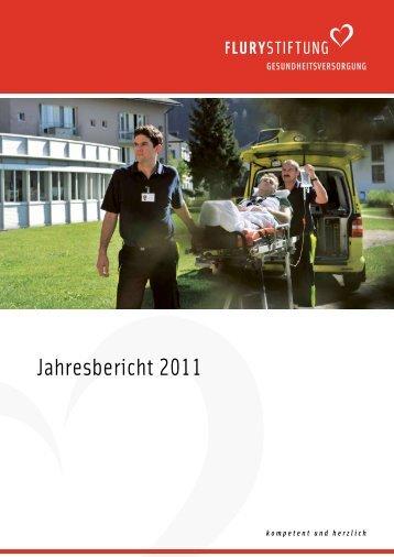 Jahresbericht 2011 - Flury Stiftung
