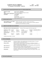 SAFETY DATA SHEET - Arco