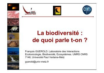 La biodiversité - Contacter un comité local d'Attac