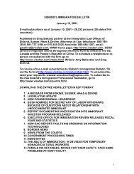 1 SISKIND'S IMMIGRATION BULLETIN January 12 ... - Siskind, Susser