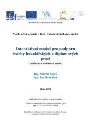 Interaktivní modul pro podporu tvorby bakalářských a diplomových ...