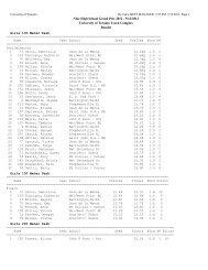 Nike High School Grand Prix 2012 - Ottawa Lions Timing Team