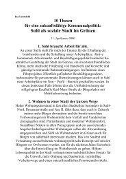 Zu den Thesen - Ina Leukefeld