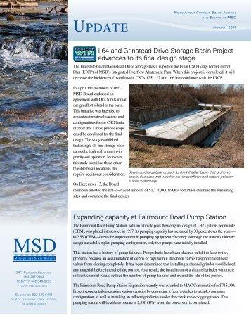 Update Newsletter – January 2011 - MSD