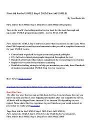 First Aid Usmle Step 2 Ck 8th Pdf
