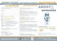 2008 Akupunktur gegen Angst und Depression - Österreichische ...