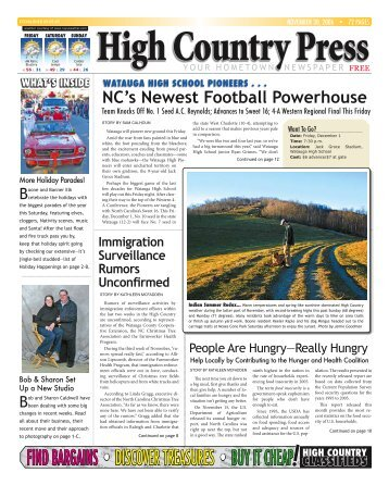 Section A High Country Press