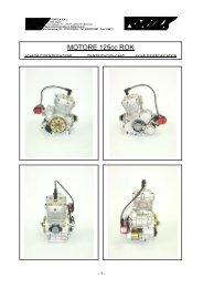MOTORE 125cc ROK - Finndrive