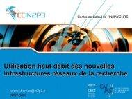 Utilisation haut débit des nouvelles - Les JRES 2007 à Strasbourg