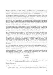 Orde do 4 de abril de 2013, pola que se establecen as bases ...