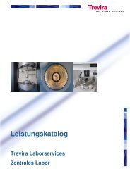 Zentrales Labor - Trevira GmbH